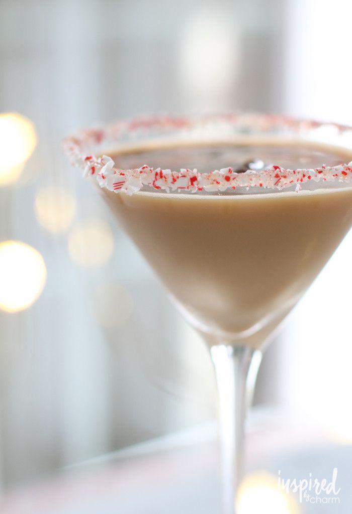 Peppermint Espresso Martini - 10 Christmas Cocktail recipes