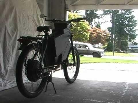 The Ultimate DIY Electric Bike - 50+MPH