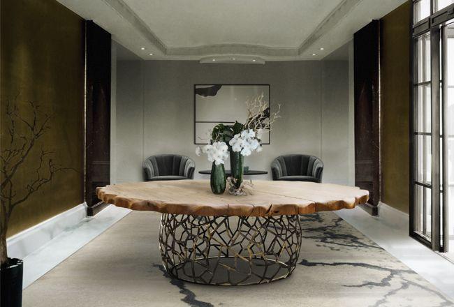 Brabbu | Dining room table Apis. Beautiful dining room ideas | See more at diningroomideas.eu