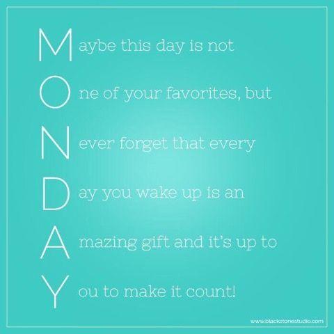 "Bowtiful Life: Motivational Monday: The ""M"" Word"