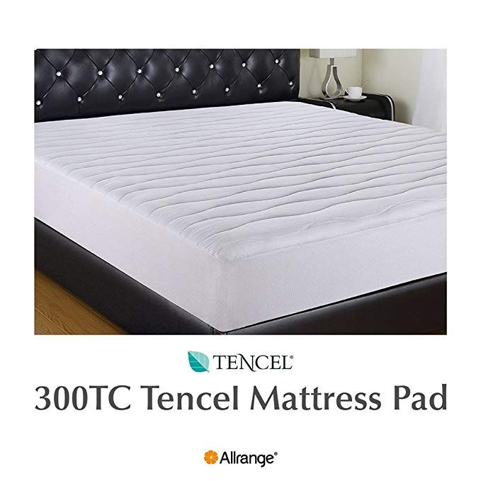 Allrange 300tc Cool Tencel Clean Mattress Pad Mattress
