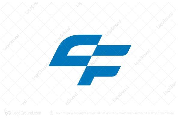 Sporty Letter Cf Monogram Logo Monogram Logo Monogram Logo Typography Typography Logo
