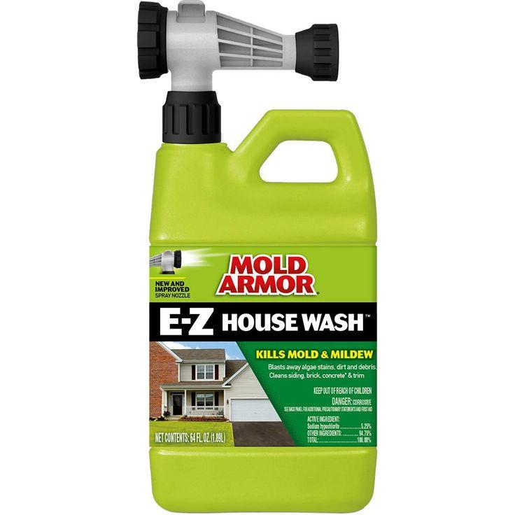 Mold Armor 64 Oz House Wash Hose End Sprayer Home Care
