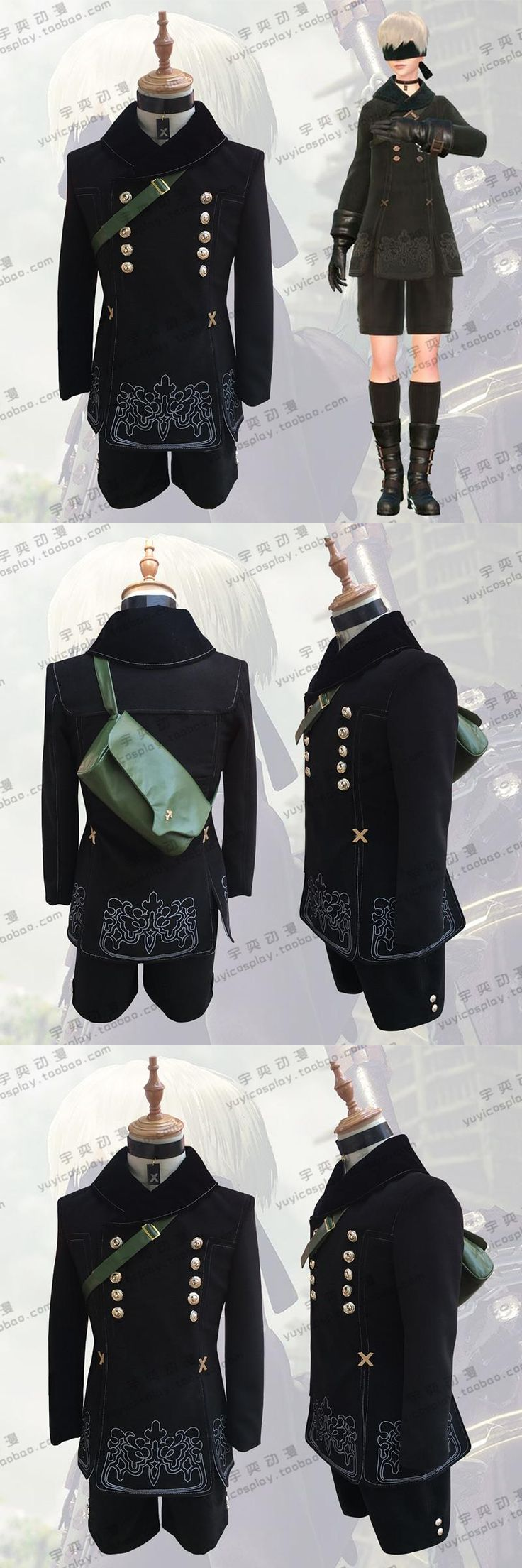 New Game NieR Automata 9S No. 2 Tipo B Cosplay Costumes Custom-Made