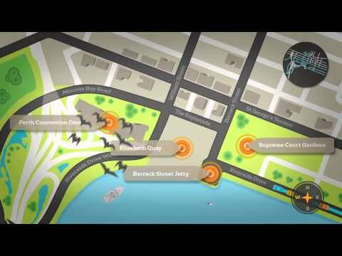 New Route for Perth's Riverside Drive - YouTube