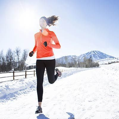 Run Happy All Winter Long:  Chilly days? Not a problem. Just follow our primer for safely logging miles when the temperature drops.   Health.com