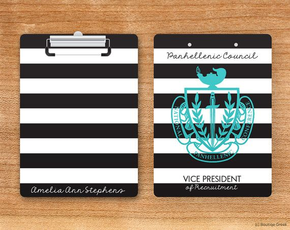 NPC National Panhellenic Conference Striped Crest by BoutiqueGreek fingers crossed for panhel