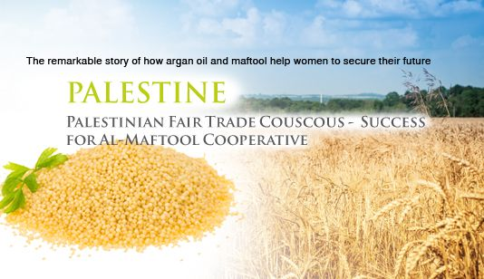 mPALESTINE Palestinian Fair Trade Couscous -  Success for Al-Maftool Cooperative Couscous is one of the most popular dishes in Palestine, suitable for poor and rich alike due to its affordability, ... #middleeasteconomy