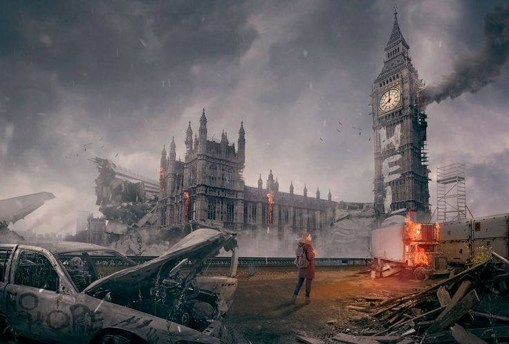 For a Halloween treat, the creative community at DesignCrowd have imagined what World landmarks would look like after a zombie apocalypse.  Iconic locations targeted included London's Big Ben, The Opera House in Sydney, and The Eiffel Tower, Paris.