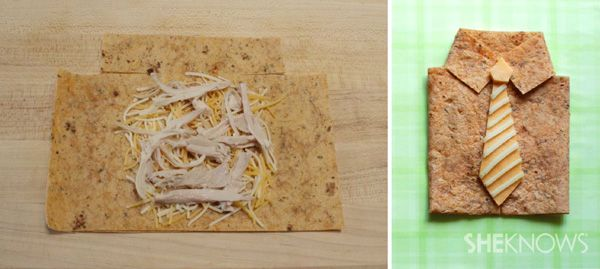 This easy Mexican treat makes a fun, kid-friendly lunch for Father's Day!