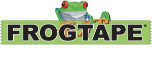 Was unterscheidet FrogTape® von anderen Malerbändern? FrogTape® ist das einzige Malerabdeckband, welches mit der PaintBlock™-Technologie behandelt wird. PaintBlock ist ein Pulver, das mit Dispersionsfarbe reagiert und sofort fest wird. Dadurch bildet es eine Mikrobarriere, die die Ränder des Bandes abdichtet und so ein Unterlaufen der Farbe verhindert.