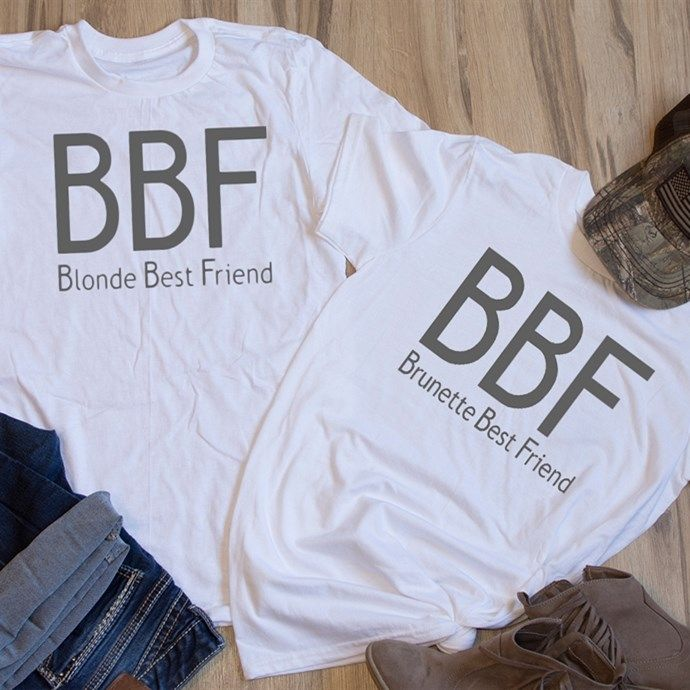 Best Friend T-Shirts are the perfect gift for Christmas for you and your Bestie!
