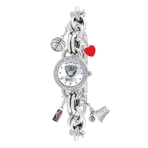 Brooklyn Nets Women's Charm Watch - $59.99