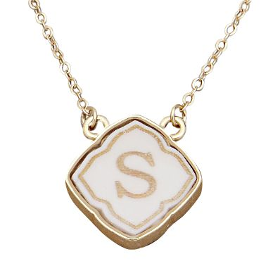 Monogrammed Necklaces For Your Bridesmaids - Preppy Wedding Style