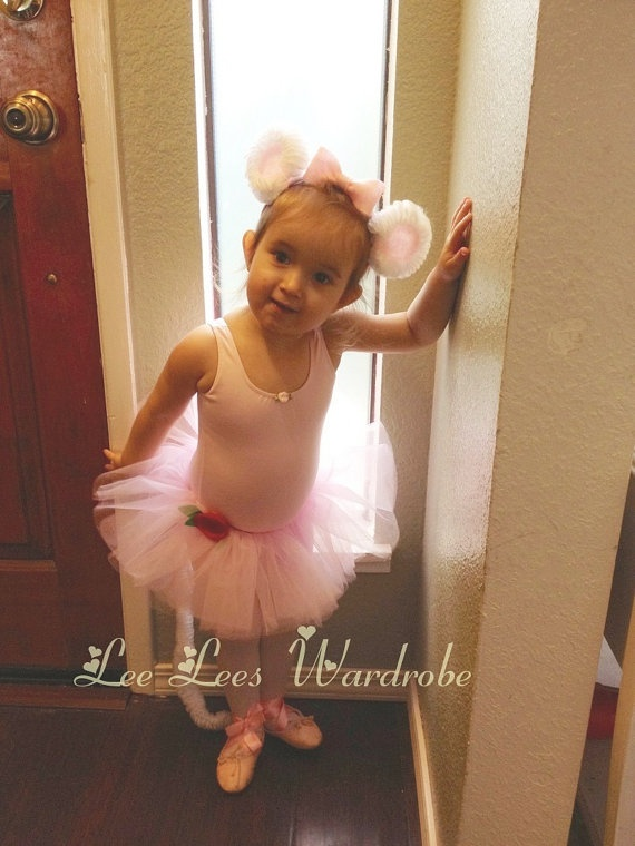 Angelina Ballerina Costume Toddler Girls Tutu On Etsy