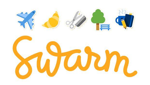 Νέα #stickers στο Swarm! #socialmedialife #socialmedia #socialnetwork