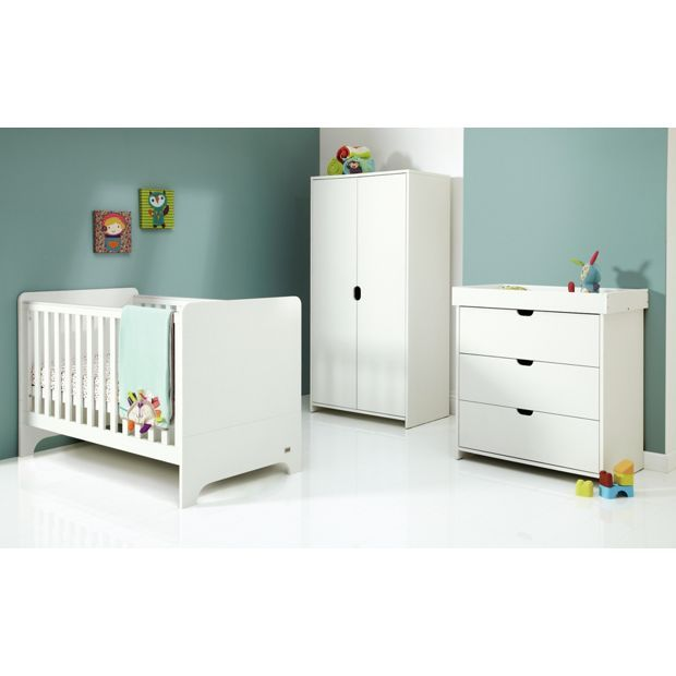 Buy Mamas And Papas Rocco 3 Piece Furniture Set - White at Argos.co.uk, visit Argos.co.uk to shop online for Nursery furniture sets, Nursery furniture, Sleep, Baby and nursery