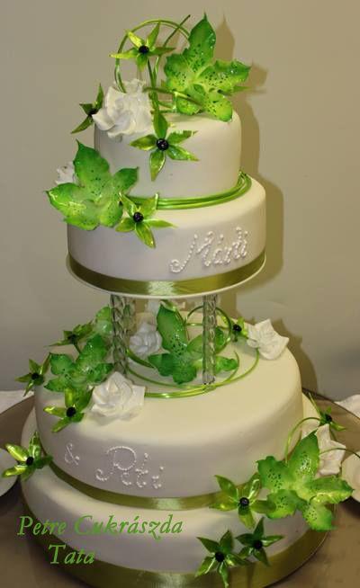 esküvői torta wedding cake