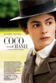 """COCO BEFORE CHANEL (2009) Audrey Tautou (Amelie) stars as legendary French designer Gabrielle """"Coco"""" Chanel in this lively biopic that explores the fashion icon's storied ascension from orphan to seamstress and cabaret singer and ultimately, the queen of Parisian haute couture."""