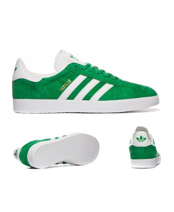 Adidas Sale Originals Gazelle Og Green And White Trainers