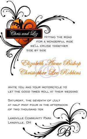 53 best Harley Davidson Wedding images on Pinterest | Biker ...