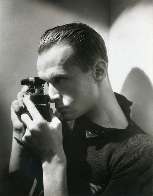 Portrait of Henri Cartier-Bresson, by George Hoyningen-Huene (1933)
