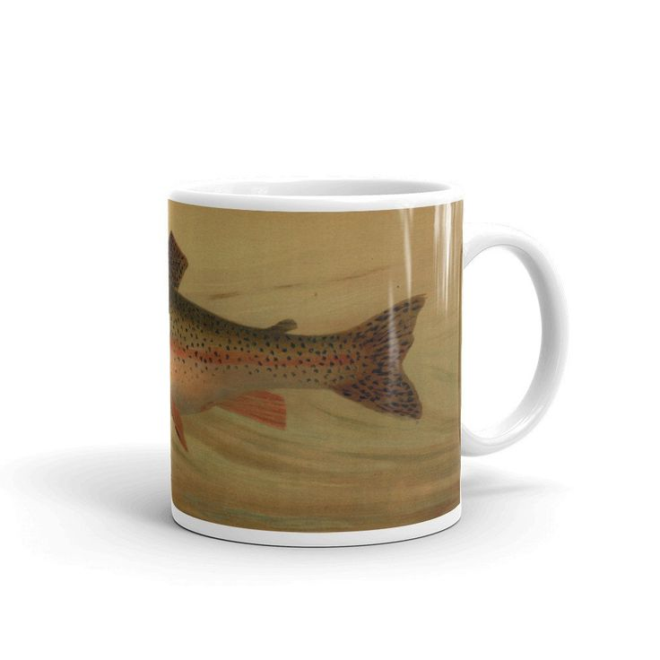 Fishing themed mugs are part of the Flora, Fauna and Form Collection www.sarahpiersonhome.com
