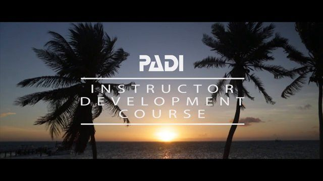 A look at GVI's PADI Instructor Development Course (IDC) and Master Scuba Diver Trainer course (MSDT).