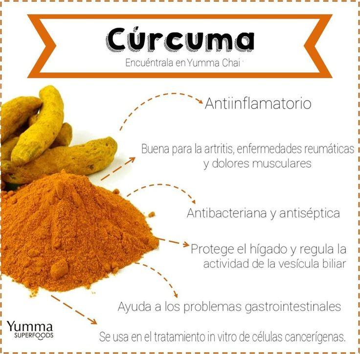 Beneficios de la Cúrcuma: Encuentra este ingrediente en Yumma Chai #curcuma