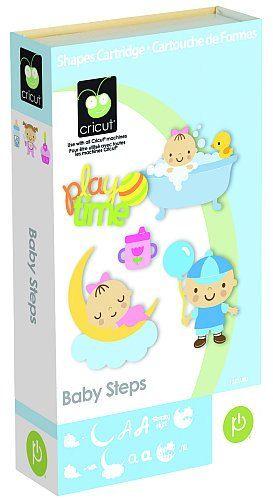 Cricut Baby Steps Cartridge #cricut #babysteps #cricutcartridge #babystepscricut #babystepscricutcartridge #babystepscartridge