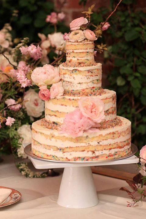 Funfetti Wedding Cakes Are A Big Trend
