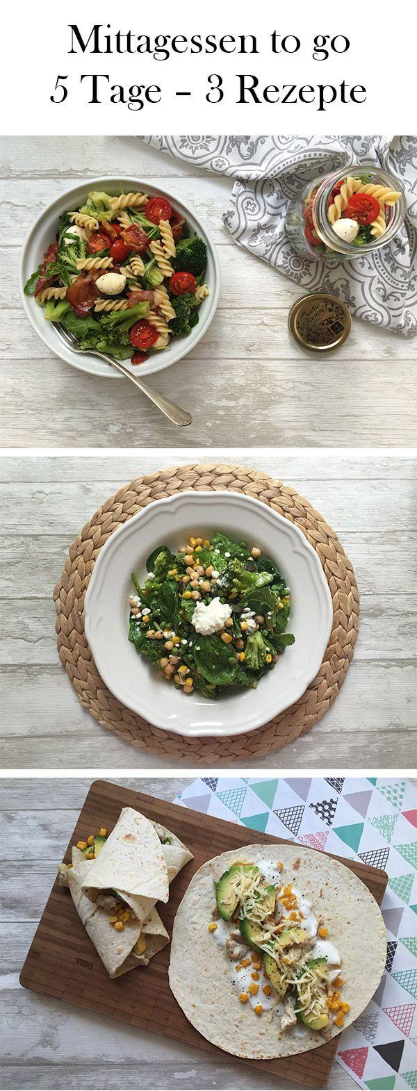 Dieser Wochenplan ist perfekt für Berufstätige: Er beinhaltet drei Gerichte, aus denen du Mahlzeiten für fünf Mittagessen für unterwegs zaubern kannst!