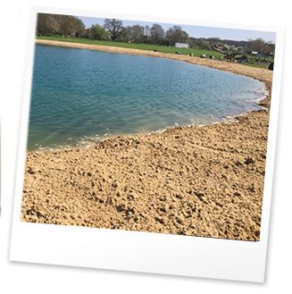 The Blue Lagoon Beach - Bosworth Water Trust