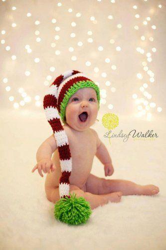 {Christmas photo ideas- need long elf hat}