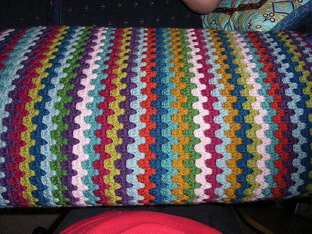 25 Best Ideas About Striped Crochet Blanket On Pinterest