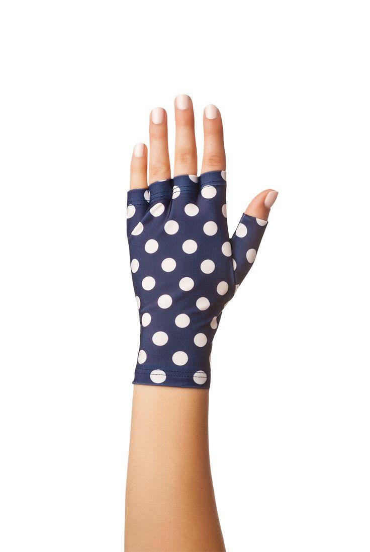 Fingerless gloves for sun protection - Fun Sun Protection Fingerless Gloves By Solfingers On Etsy