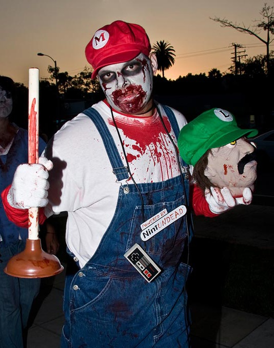 Click for the Big Fat List of Zombie Costume Ideas