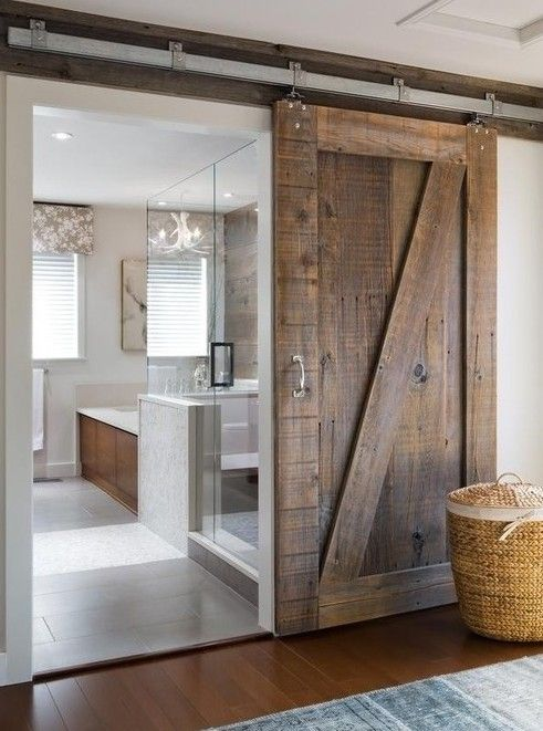 Sliding Barn Doors - Interior Walls Designs