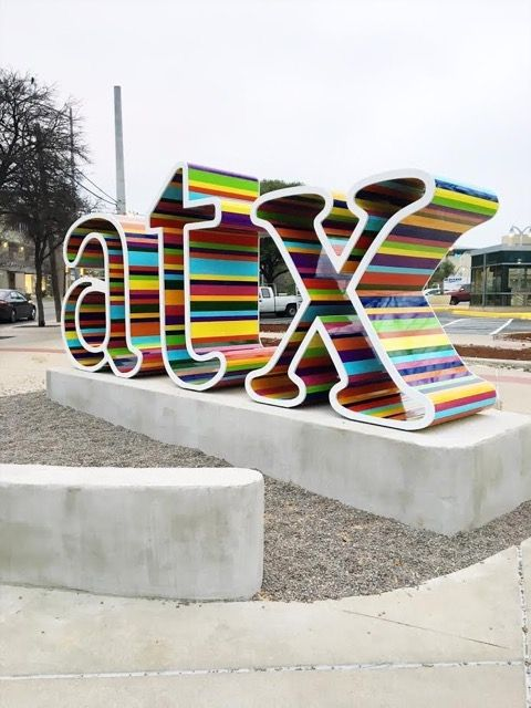 "The Story Behind the New ""ATX"" Sign on Fifth and Lamar - Austin Amplified - February 2017 - Austin, TX"