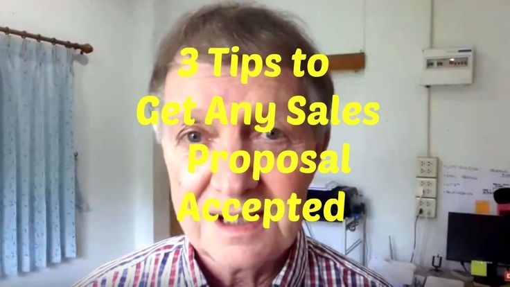 3 Tips to Get Any Sales Proposal Accepted