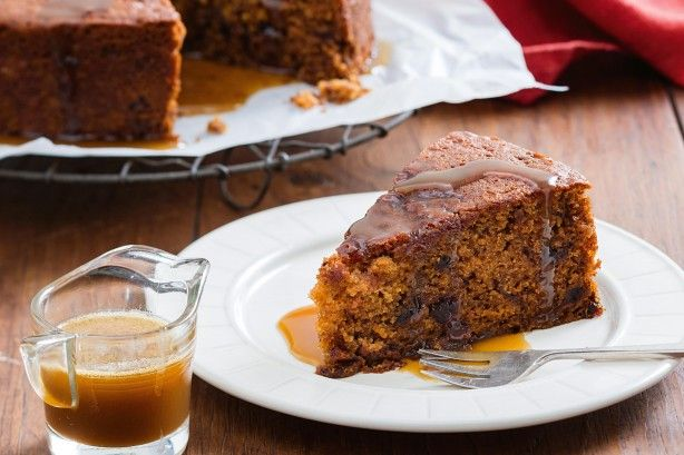 Sticky date pudding - With winter just a few days away, a sticky date pudding seems like a timely idea!