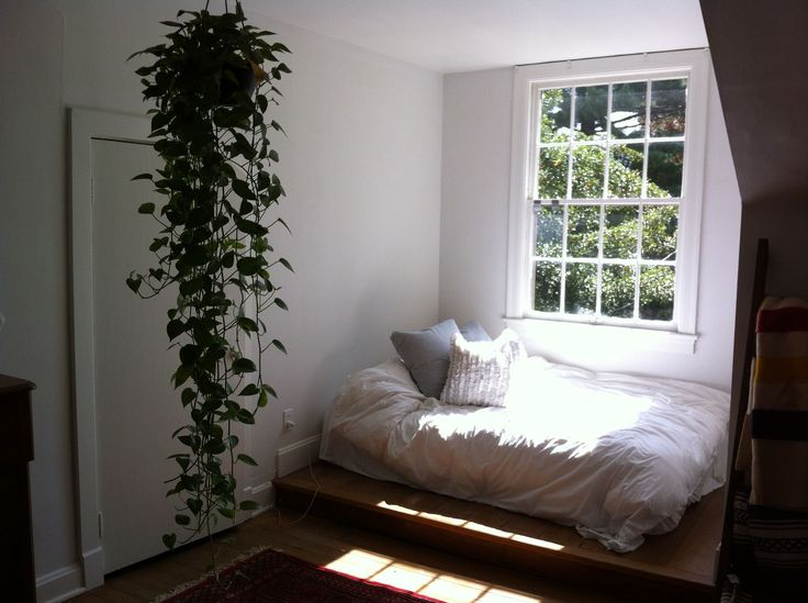 Amazing Reading Nook with Bed and Pillows : Reading Nook Ideas ...