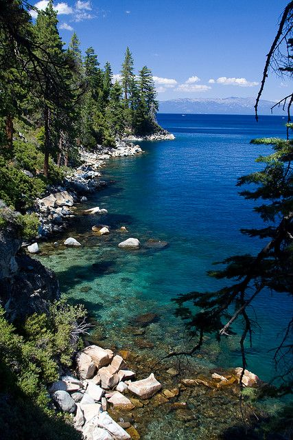Lake Tahoe, CA @Shayli Johnston Wilks  brookey says this is the best place she has EVER been!