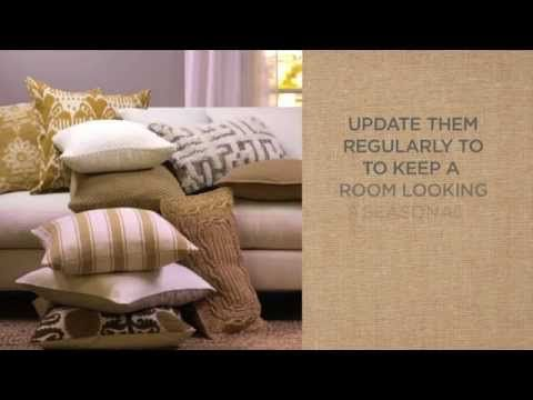 Decorative pillows can add visual interest to your interiors and make for a quick decor update for the holidays or when you are entertaining. In this Pottery Barn video, watch some easy ways for decorating with pillows.     The first of these decorative pillow ideas is updating your pillows regularly to keep your decor fresh and seasonal. The next...
