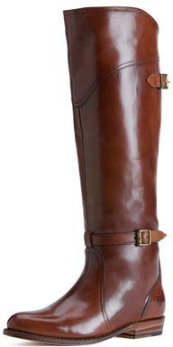 Frye Dorado Polished Leather Riding Boot on shopstyle.com