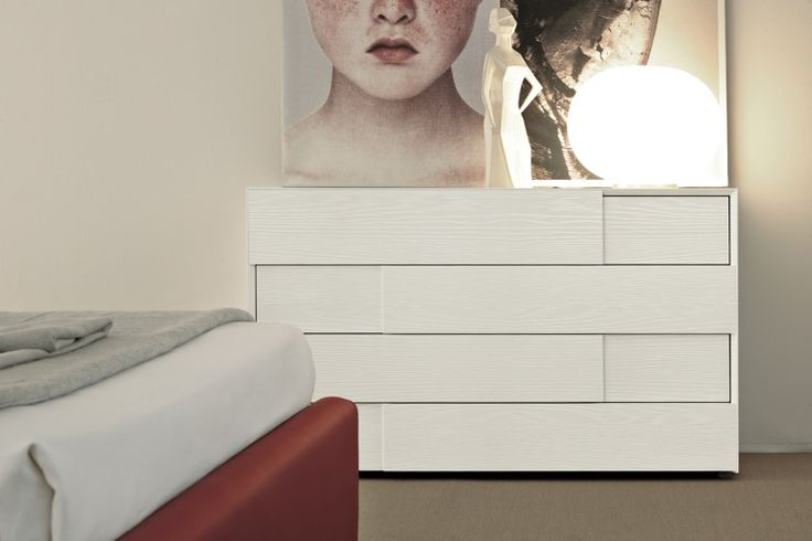 SMA Mobili 4 Drawer Chest of Drawers in white ash   Robinsons Beds