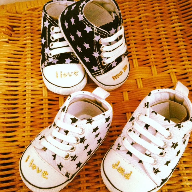 Handmade baby prewalker shoes