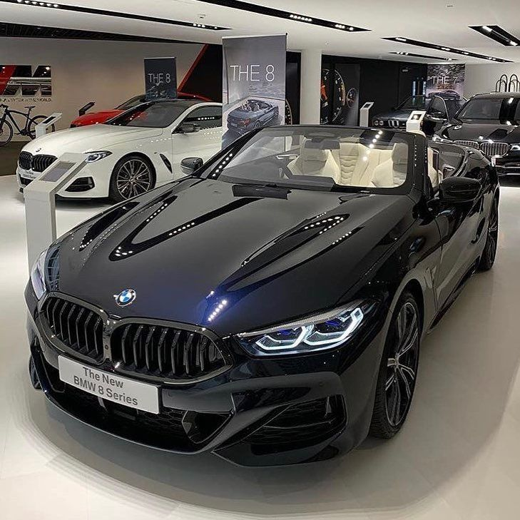 The 8 Series Convertible Looking Sharp Bmw8series