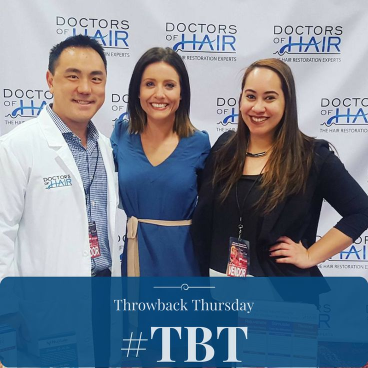 #ThrowbackThursday #TBT  The #DoctorsofHair Team at the #DivasDayOut #event in #LasVegas, NV ☀