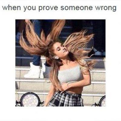 Ariana Grande Hair Flip OMG that's so me